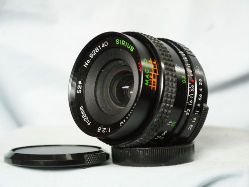 M42 28MM F2.8  Screw Mount Prime MACRO Wide Angle Lens -Ideal Conversion Lens​